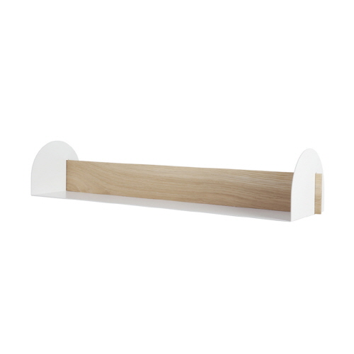 BMOTTOLIVING -윙쉘프 화이트   Wing shelf_white_L