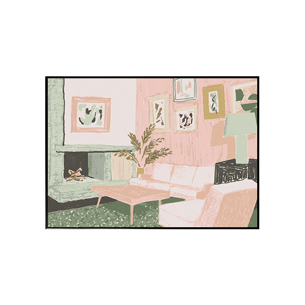 Frenchtoaststudio- 리빙룸 (Living Room) 40X50 / 50X70